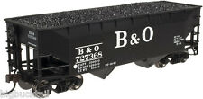 Atlas Trainman B&O 2-Bay Offset (Flat End) Hopper Car (3-Pk) R-T-R