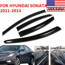 DOOR WINDOW VISOR SUN RAIN WIND DEFLECTOR FOR HYUNDAI SONATA 2011 2012 2013 2014