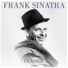 FRANK SINATRA Frankie LP VINYL Europe Not Now 2017 12 Track 180 Gram Clear Vinyl