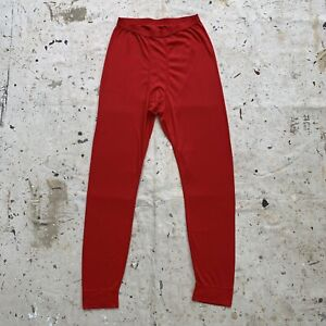 Bright Red Patagonia Capilene Pants Marked XL