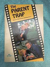 Vintage Disney Scholastic Paperback THE PARENT TRAP 1968 - 5th Printing 1974