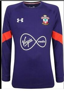 Camisa Under Armour Southampton Goleiro Purple Goalie Jersey Mens Medium Virgin