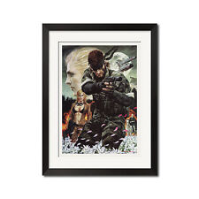Metal Gear Solid Snake Eater Art Poster Print