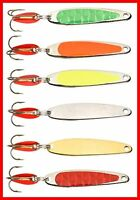 Swedish Pimple Deep Sinking Spoon Fishing Lure (Choose color, size and quantity)