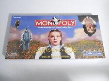 Genuine Hasbro The Wizard of Oz Monopoly Collector's Edition Board Game Read