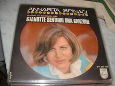 """ANNARITA SPINACI SANREMO'68 """" STANOTTE SENTIRAI UNA CANZONE """" ITALY'68"""