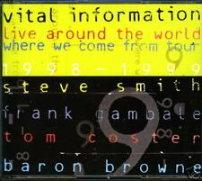VITAL INFORMATION live around the world (2 CDs) GAMBALE
