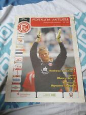Stadionheft Fortuna Düsseldorf - SC Verl  07/08 NEU