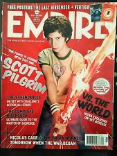 Empire Magazine Scott Pilgrim Vs The World Sept 2010 Issue # 37 Posters Intact