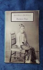 Burmese Days by George Orwell 1989 Paperback Penguin Classic