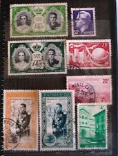 Monaco Lot of 8 Stamps-- USED NH- Nice Mix- Nice Condition
