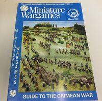 Miniature Wargames Number 58 March 1988 oop SC