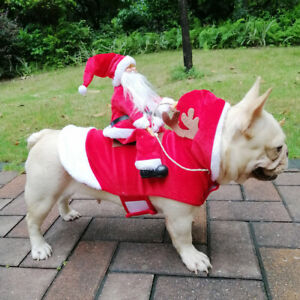 Christmas Clothes Costume Hoodie Jacket Pet Coat Puppy Outfit Cat Dog Pet(S-XXL)