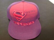 Supergirl Logo Baseball Hat Six Flags Theme Park