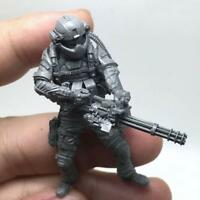 1/35 Modern American Navy Seal Commando Destroyed Demon Man Resin Soldier M E1Z8