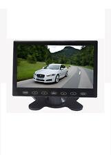 7'' HD Ultra Thin TFT LCD MP5 USB SD Video 2-CH Input Car Rearview Monitor