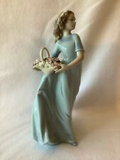 "Lladro Girl Figurine ""Spring Enchantment"" #6130"