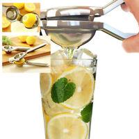 Kitchen Bar Stainless Steel Lemon Lime Squeezer Juicer Hand Presser Utensil Tool
