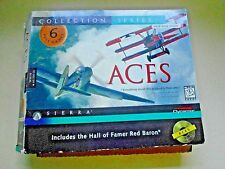 Aces Collection Series Computer; 6 Full Games Includes Hall of Fame Red Baron