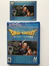Dragon Fantasy - Ps Vita -Limited Run Games- Playstation Vita- Limited Edition