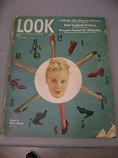 LOOK MAGAZINE SEPTEMBER 16 1947 COLOR SHOES FOOTBALL PREVIEW BERGAN MCCARTHY