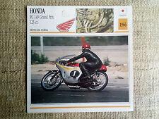 Scheda moto Honda RC 149 Grand Prix 125 cc - anno 1966