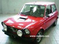 A112 Abarth Rally Feu Phare Droite / Gauche Lampe H4 Original Hella