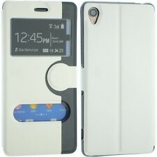 Per Sony Xperia z3 in Pelle Flip Portafoglio Custodia Back Cover Custodia caldo pelle Experia z3