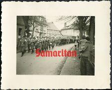 E3/6 WW2 ORIGINAL PHOTO OF GERMAN WEHRMACHT BANDSMEN