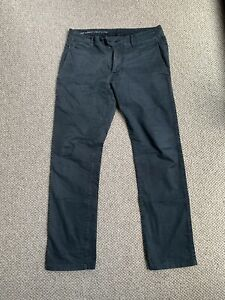Mens G Star Raw Black Chino Trousers 32W 34L