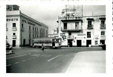 Original 1950 Streetcar Tram Tampico Mexico Photograph 6x4 Coca Cola Street View