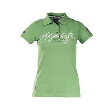 Horze Crescendo Maeve Women's Pique Shirt - Size 8 - Shamrock Green