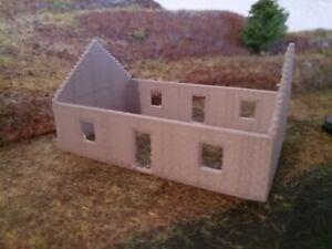 Maison en construction - échelle N
