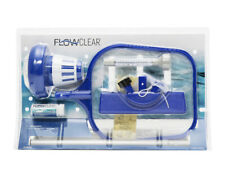 New Pool Cleaning Kit & Accessory Set; Vacuum Skimmer Chlorine Floater Flowclear