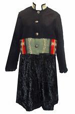 Artisan Made Pendleton Blanket Jacket Velvet Accents sz M One of a Kind