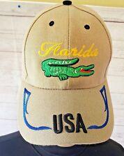 FLORIDA SUNSHINE STATE Gator Trucker Hat Baseball Cap