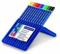Staedtler Ergosoft Aquarell Water Soluble Blenddable Colouring Pencils Wallet 12