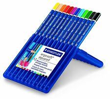 STAEDTLER Ergosoft AQUARELL solubile in acqua blenddable MATITE COLORATE Wallet 12