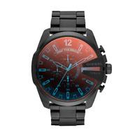 Brand New Diesel DZ4318 Mega Chief Chronograph Black Stainless Steel Men's Watch