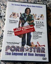 PORN STAR Legend of Ron Jeremy NEW UNRATED DVD Jenna Jameson Phoebe Dollar Klass