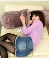 "Madagascar Hippo Throw Pillow Pets Stuffed Animal Plush Soft Toys Doll Gifts 47"""