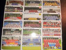 Match Attax 2013/14 alle Mannschaftskarten M1-M18 Fussball Sammelkarten Cards