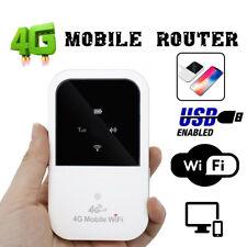 150Mbps Hotspot SIM Card Slot Unlocked Portable 4G LTE Wifi Router Mobile Modem