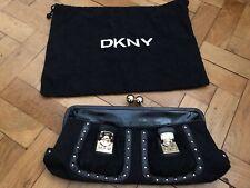Brand New DKNY Black Handbag / Clutch Bag - Oversize - Authentic