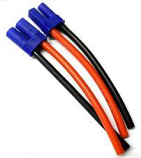 EC5BMF-10-10 RC Male Female EC5 Plug Battery Connector Wire 10AWG 10cm Long