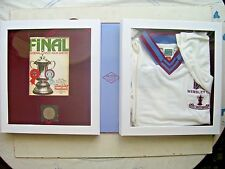 1980 WEST HAM United FA Cup Final Shirt in a  Limited Edition Box Set