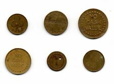 SIX OLD TOKENS