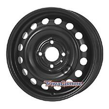 KIT 4 PZ CERCHI IN FERRO Nissan Note 5.5Jx15 4x100 ET45