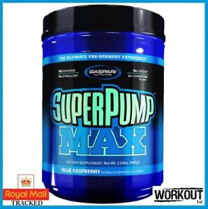 Gaspari SUPERPUMP MAX 640g   40 SERV The Ultimate Pre Workout Pump Energy