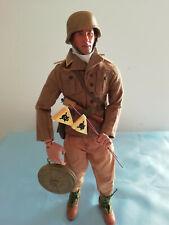1/6 action figure WW2 German Dak Afrika korps 1943 CON MINE